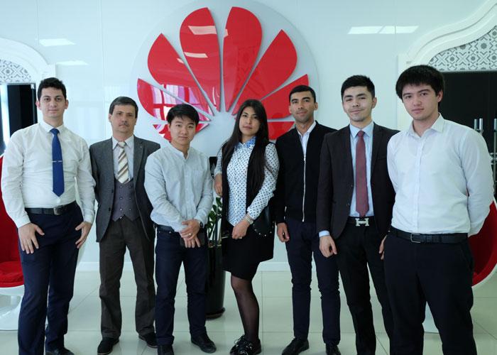 Студенты ТУИТ в Huawei