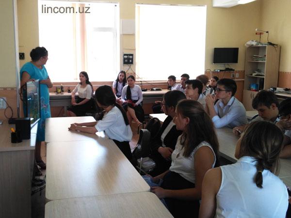 встречи со школьниками в ТУИТ
